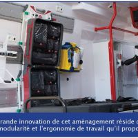 Intraxx - Aménagement modulable de l'ambulance