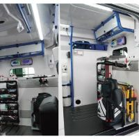 Aménagement modulable iNTRAXX : Installation chez les Ambulances URVOIX