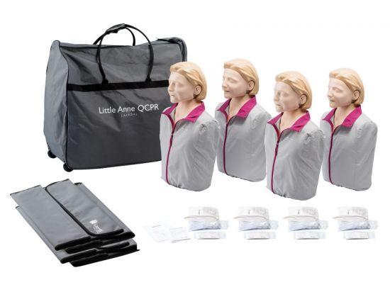 Pack de 4 mannequins Little Anne QCPR
