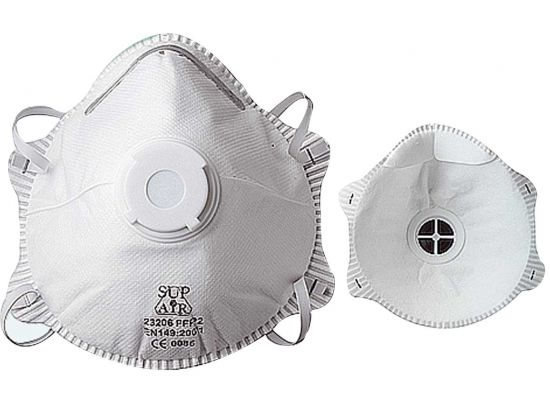 Masque FFP2 coque avec valve