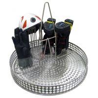 Demi support pour masques/bottes/gants pour machine à laver SOLO RESCUE