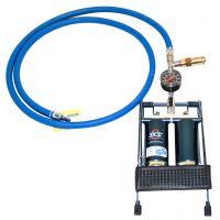 Pompe à pied 1,5 bar avec valve de surpression