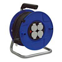 Enrouleur BAT PRO avec 4 prises et disjoncteur thermique
