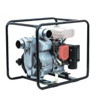 Motopompe auto-amorçante pour eaux chargées