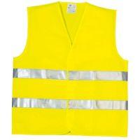 Gilet haute visibilité double ceinture jaune