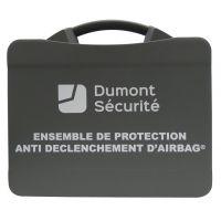 Coffret de rangement pour protection anti déclenchement d'airbag