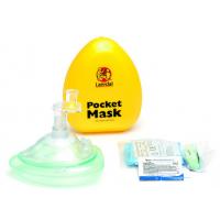 Masque de poche avec entrée oxygène
