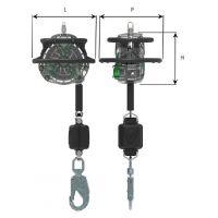 Antichute à rappel automatique V-EDGE avec câble galvanisé