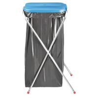 Support pliable de sac poubelle 110 L
