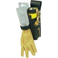 Support cuir pour clé/gants ou clé/gants/lampe