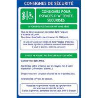 Consignes de sécurité EAS
