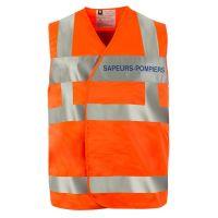 Gilet de signalisation haute visibilité Sapeurs-pompiers