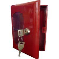 Boîte à clé sous verre dormant avec clé extérieure